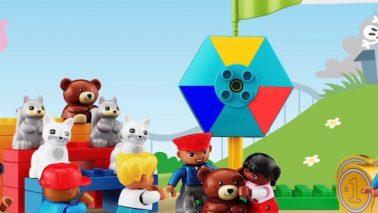 Tartu Lasteaia lapsed said uue Lego Education komplekti