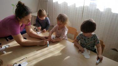 Loovtegevused ja väikelapse loovuse toetamine