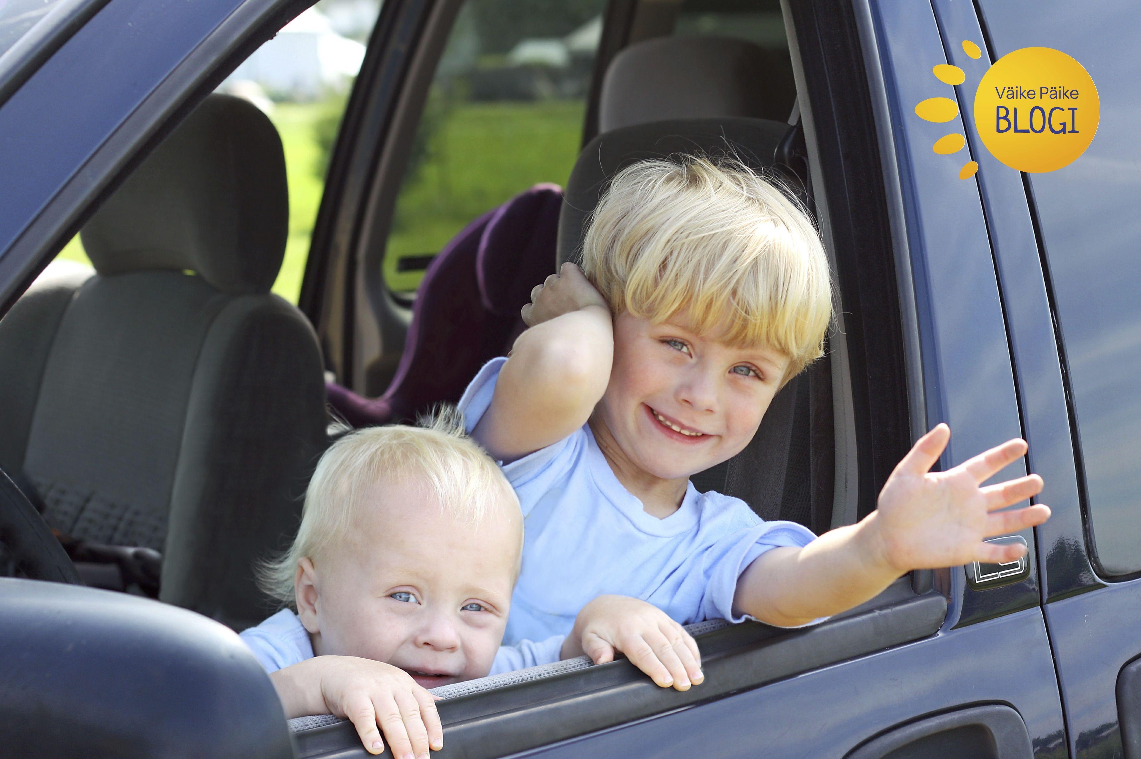 5 + 5 nutikat tegevust lastega autosõidu ajal