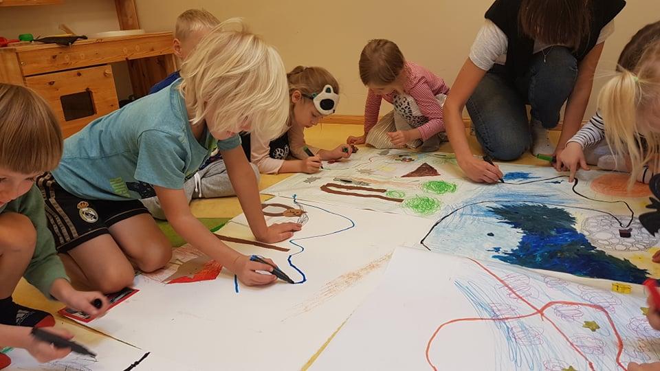 Viimsi lasteaia Rohelise rühma loomade projekt