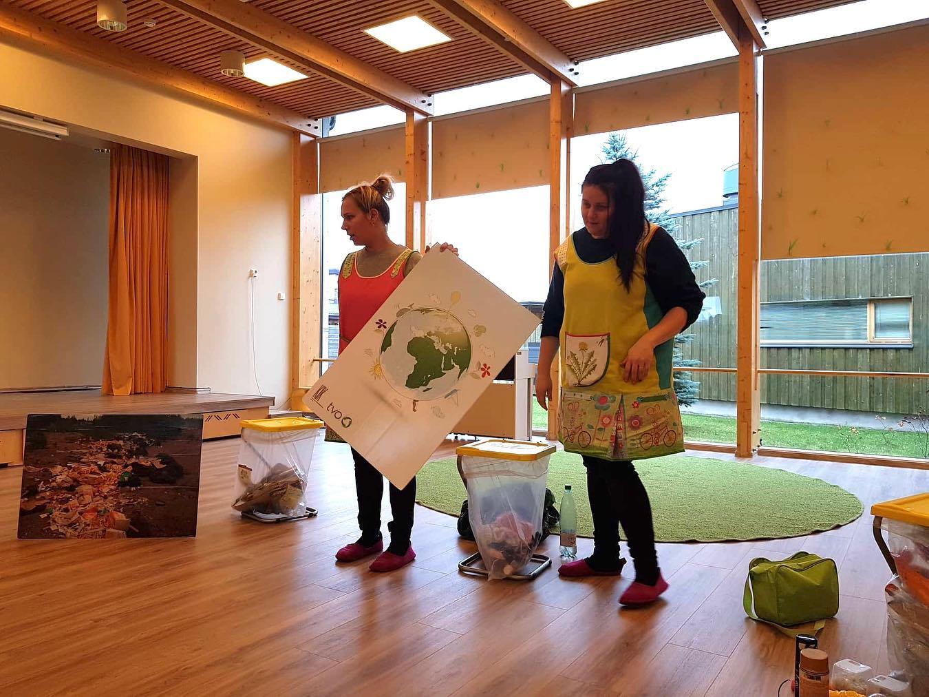 TVO keskkonnaalane õppepäev Viimsi Lasteaias